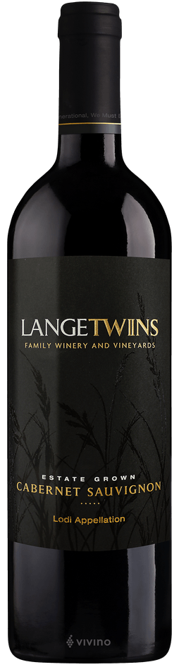 Langetwins Estate Grown Cabernet Sauvignon Lodi 2017 750ml