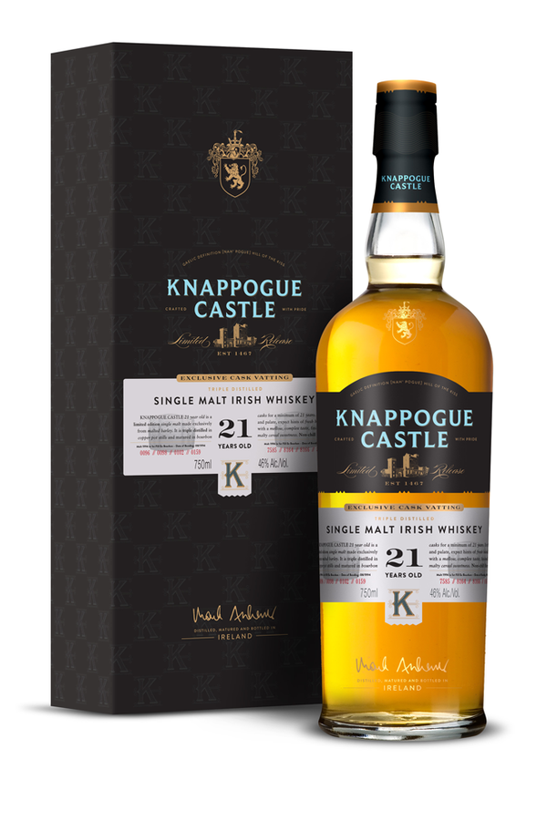 Knappogue Castle Irish Single Malt 21Yrs 750ml