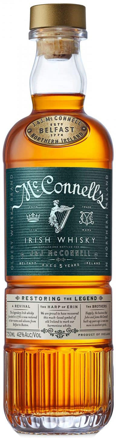 McConnell's Irish Whisky 5Yr 750ml
