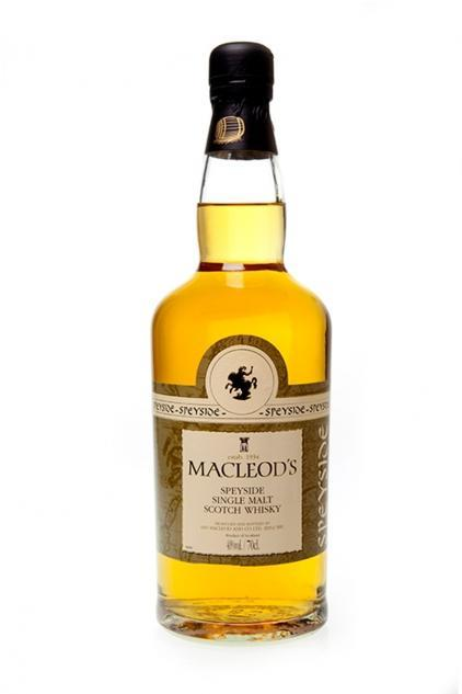 Macleod's Speyside Sngle Malt Whiskey 750ml
