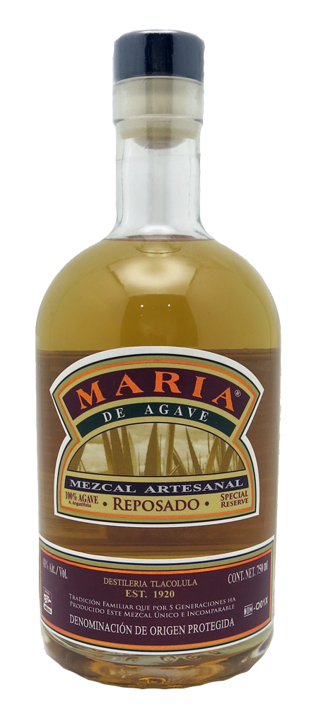 Maria Mezcal Reposado 750ml