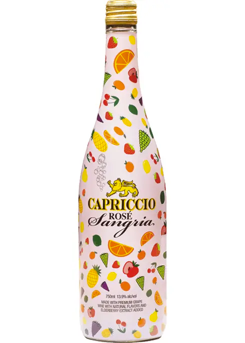 Capriccio Rose Bubbly Sangria 750ml