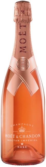 Moet Nectar Imperial Rose Jonathan Mannion 750ml
