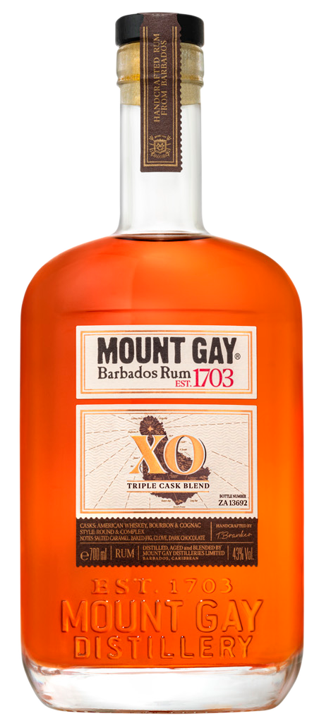 Mount Gay XO Triple Cask Blend Rum 750ml
