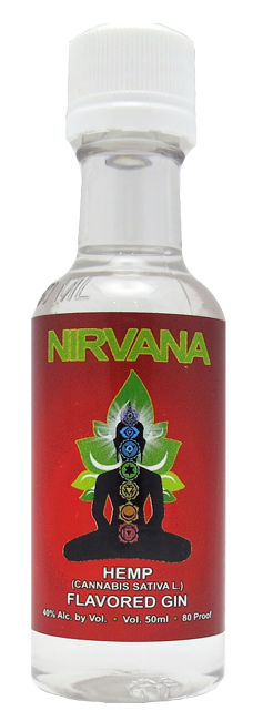 Nirvana Hemp Flavored Gin 50ml