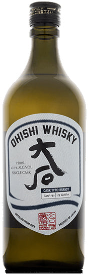 Ohishi Whisky Brandy Cask 10Yr 750ml