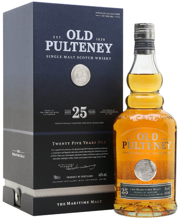 Old Pulteney 25 Yrs 750ml
