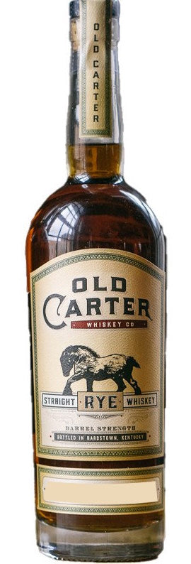 Old Carter Straight Rye Whiskey #6 116.3 Proof 750ml