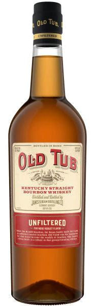 Old Tub Sour Mash Unfiltered Bottled in Bond Kentucky Bourbon 750ml