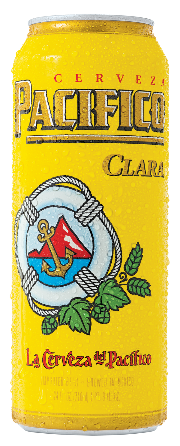 Pacifico Beer 24oz Can