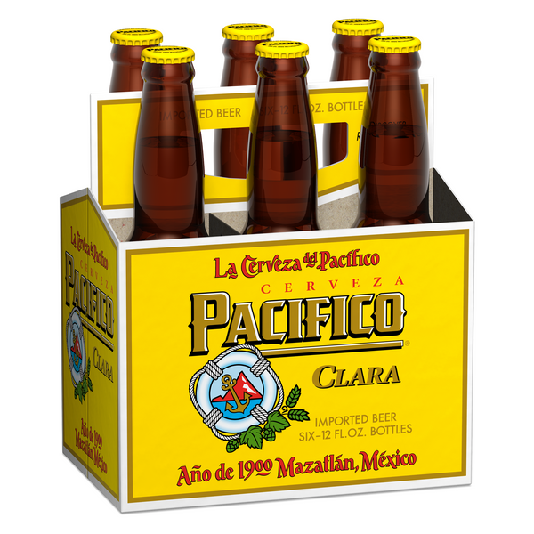 Pacifico Beer 6pk