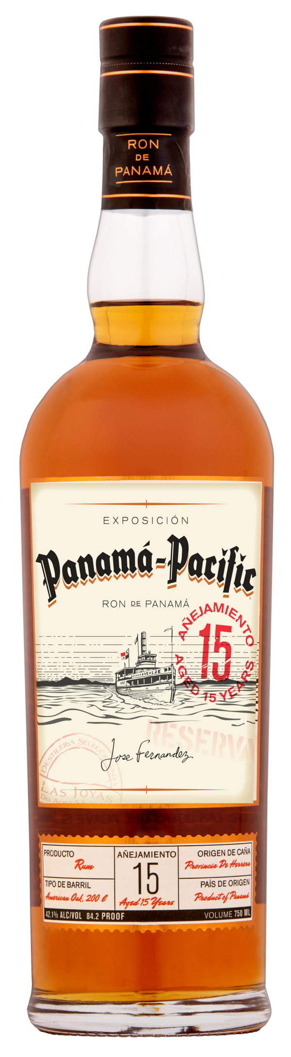 Panama-Pacific 15Yr Rum 750ml