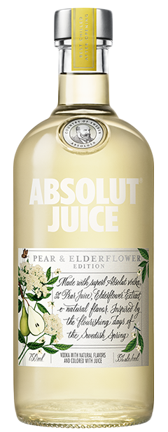 Absolut Juice Pear & Elderflower 750ml