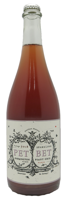 Harrington Wines Pet Bet Pinot Gris Rose 2018 750ml