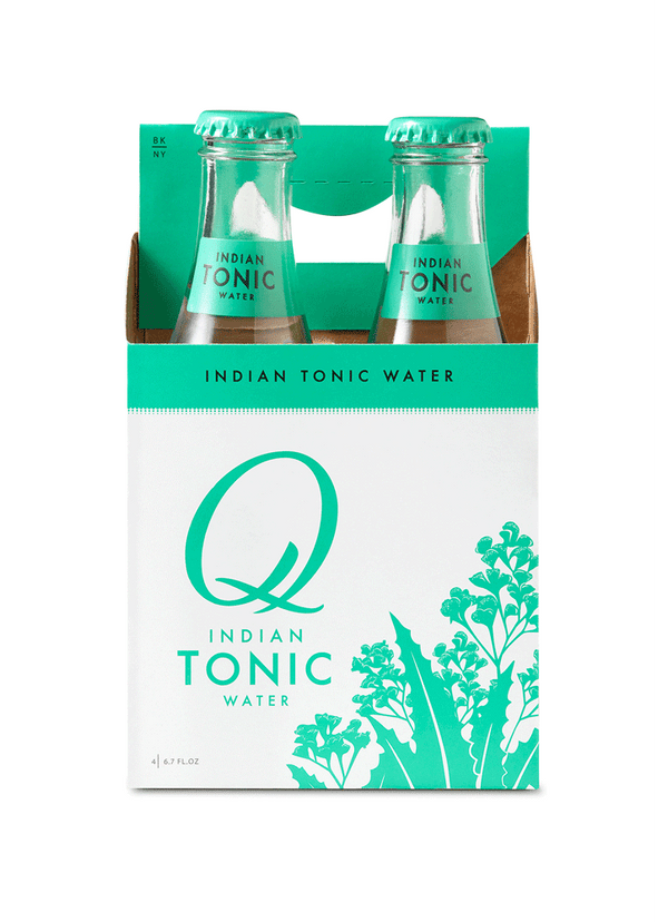 Q Indian Tonic Water 6.7oz 4pk Btls