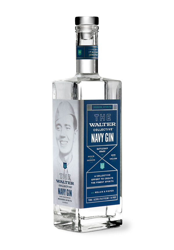 The Walter Collective Navy Strength Gin 750ml