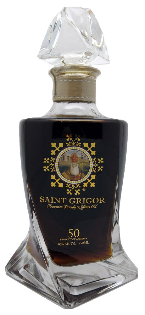 Saint Grigor 50 Years Wooden Double Door Box 750ml