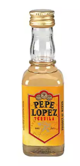 Pepe Lopez Gold Tequila 50ml