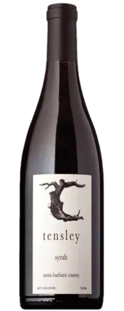 Tensley Santa Barbara Syrah 2019 750ml