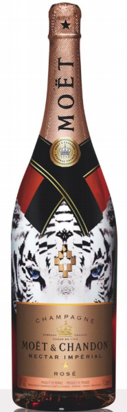 Moet Nectar Imperial Rose Tiger 3L