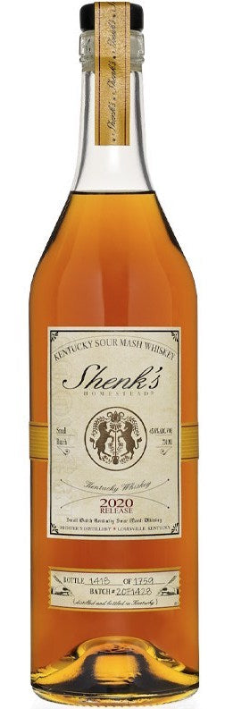 Shenk's Homestead Kentucky Sour Mash Whiskey 2020 750ml