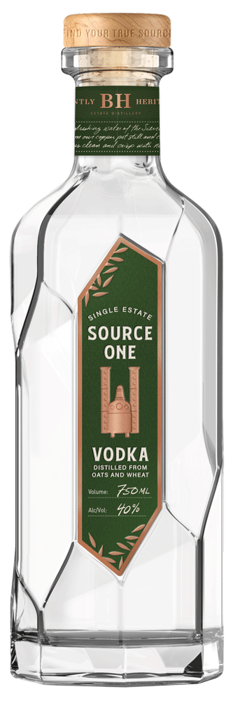Source One Single Estate Oat Vodka 750ml