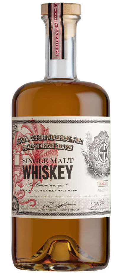 St. George Single Malt Lot 20 750ml