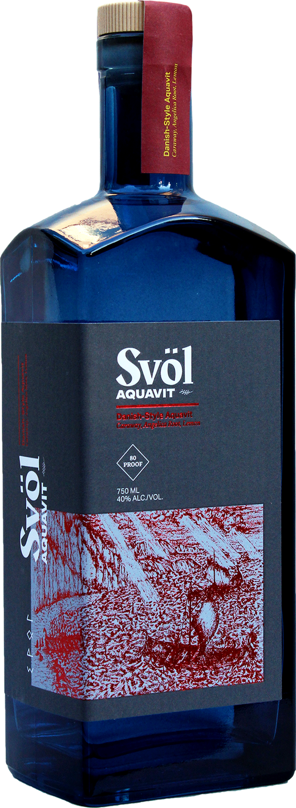 Svol Danish Style Aquavit 750ml