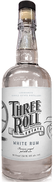 Three Roll White Rum 750ml