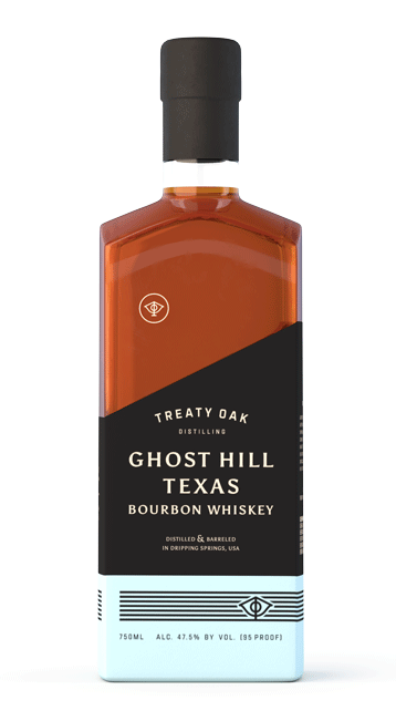 Treaty Oak Ghost Hill Texas Bourbon Whiskey 750ml