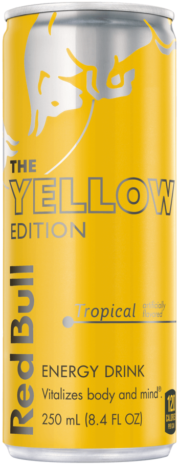 Red Bull Yellow Edition 12oz
