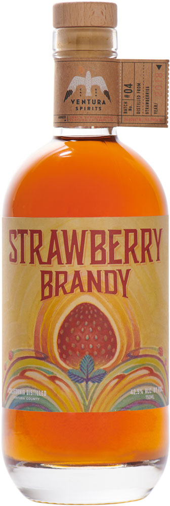 Ventura Spirits Strawberry Brandy 750ml
