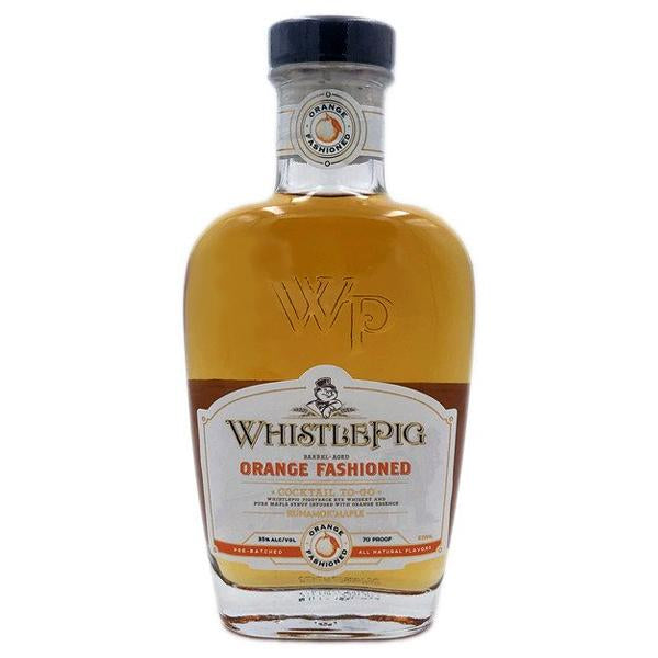 Whistlepig Piggy Back Orange Fashioned 375ml