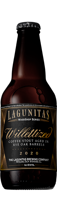 Lagunitas Willetized Imperial Coffee Stout 2020 12oz Btl