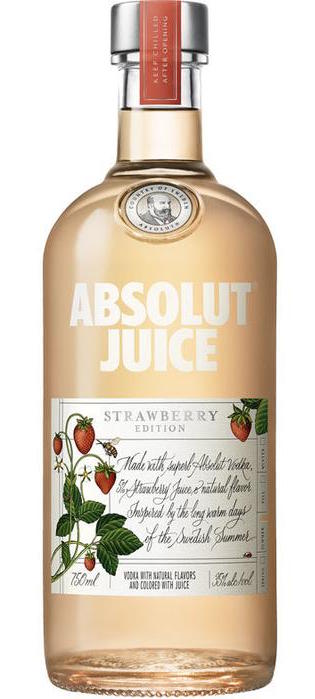 Absolut Juice Strawberry 750ml