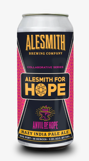 Alesmith Anvil for Hope Hazy IPA 16oz Cans