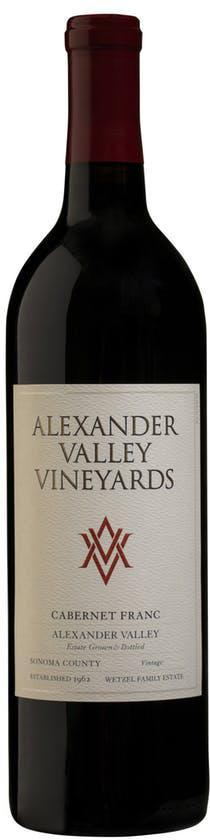 Alexander Valley Vineyards Cabernet Franc 2018 750ml