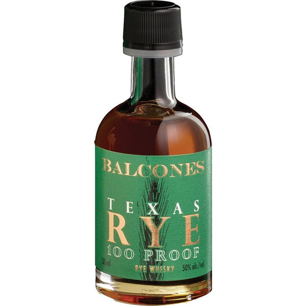 Balcones Texas Rye 100 Proof 50ml