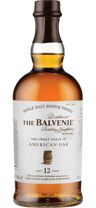 Balvenie Toasted Oak 12 Year Old Single Malt Whisky 750ml