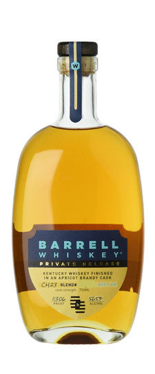 Barrell Private Release Apricot Brandy Barrel Finished Whiskey 750ml