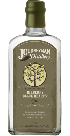 Journeyman Bilberry Black Hearts Gin 750ml