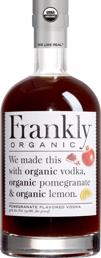 Frankly Organic Pomegranate Vodka 750ml