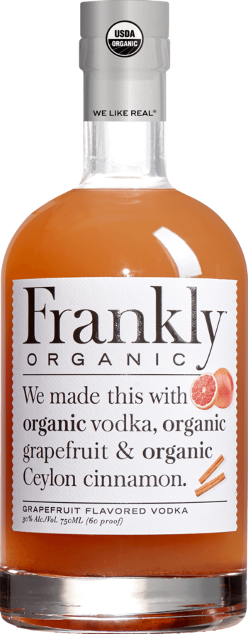 Frankly Organic Grapefruit Vodka 750ml