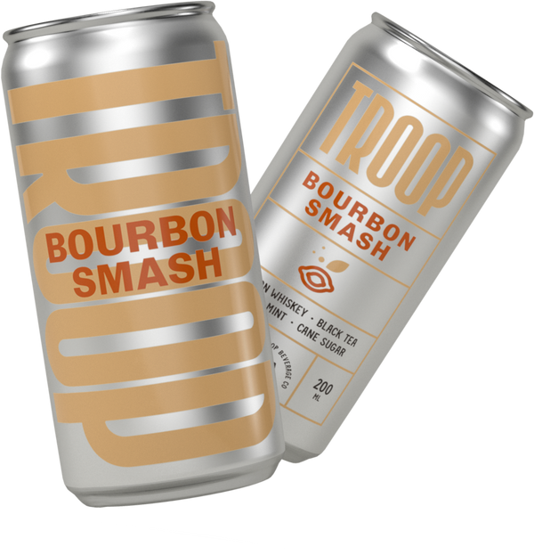 Troop Bourbon Smash Handcrafted Cocktail 4pk 200ml