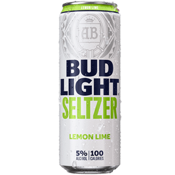 Bud Light Lemon Lime Seltzer 25oz can