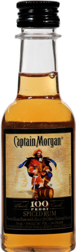 Captain Morgan Rum 100 proof 50ml