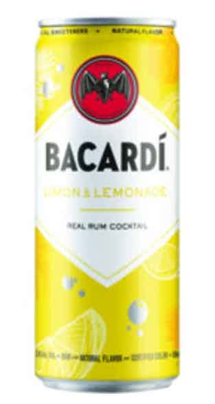 Bacardi Cocktail Limon & Lemon 4pk