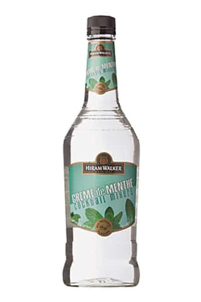 Hiram Walker Creme De Menthe White 750ml