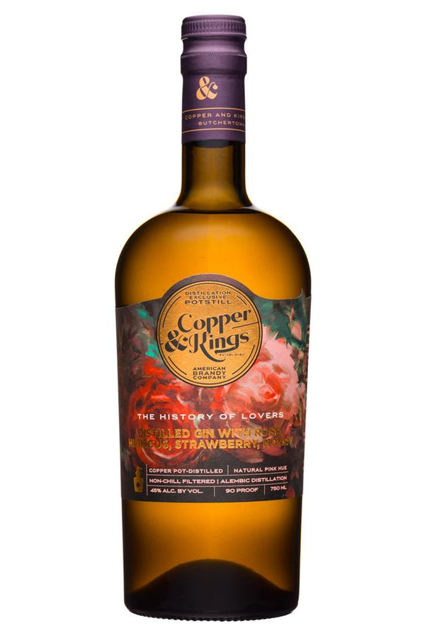 Copper & Kings History of Lovers Gin 750ml