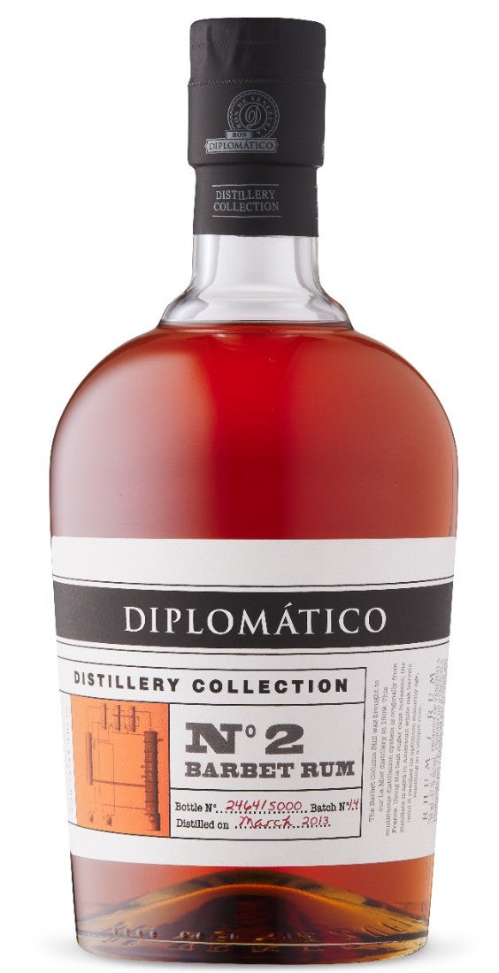 Diplomatico Batch No.2 Barbet Rum 750ml